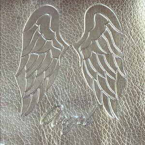 "NWT Victoria's Secret ""Angel"" Silver Clutch"